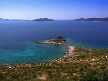 morze Śródziemne krajobrazu Zdjęcie Stock
