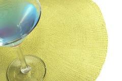 morze Śródziemne martini Fotografia Royalty Free