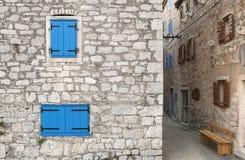 morze Śródziemne starego miasta Fotografia Royalty Free
