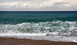 morze śródziemnomorskie Fotografia Stock