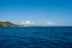 morze śródziemnomorskie Zdjęcia Royalty Free