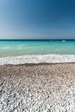 Morze Śródziemnomorskie Rhodes Zdjęcie Royalty Free