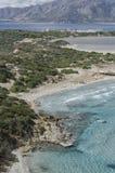 Morze Śródziemnomorskie w Sardinia Zdjęcie Royalty Free