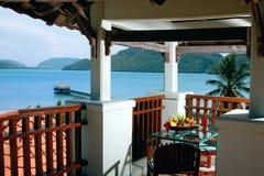 morze restauracyjny stół Fotografia Stock