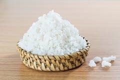 Morze sól na tkactwo maszynie zdjęcie stock