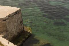 Morze Siracusa, Włochy - Fotografia Royalty Free