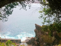 Morze skała Zdjęcia Royalty Free