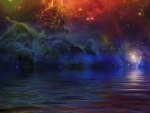 morze surrealistyczny ilustracji