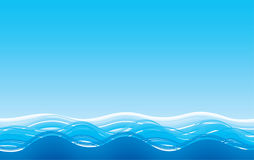 morze tła abstrakcyjne ilustracji