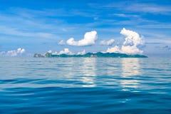 Morze Tajlandia, Andaman morze część ocean indyjski Obrazy Royalty Free