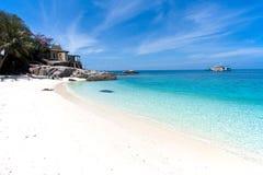 Morze, Tajlandia, Koh Nang Juan wyspa, Surat Zdjęcie Stock