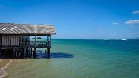 Morze taras obraz royalty free