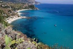 Morze Włochy i wybrzeże Zdjęcie Stock
