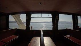 Morze wśrodku ferryboat zdjęcie wideo