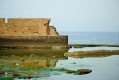 Morze w Akko, Izrael (akr) Fotografia Royalty Free