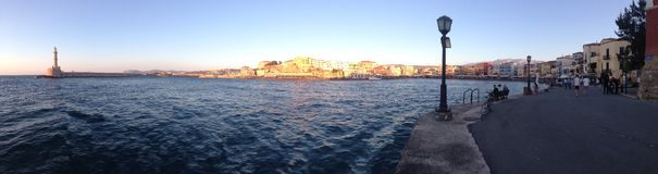 Morze w Crete Zdjęcia Royalty Free