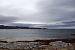 Morze w Północnym Europa Zdjęcia Stock