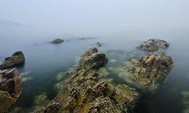Morze w ranku Zdjęcia Royalty Free