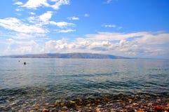 Morze w Senj Fotografia Stock