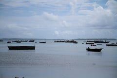 Morze w Zanzibar Obrazy Royalty Free