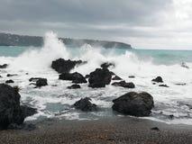 Morze w zimie zdjęcie stock