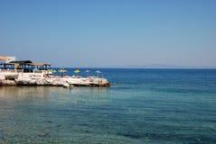 morze wakacyjne Fotografia Stock