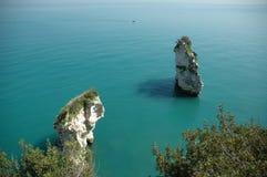 morze wieże obrazy stock