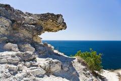 morze wiszący kamień Obrazy Royalty Free