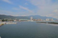 Morze Wokoło Otsu Japonia Obraz Royalty Free