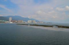 Morze Wokoło Otsu Japonia Obrazy Stock