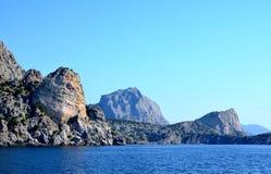 Morze Wybrzeże skały Zdjęcia Royalty Free