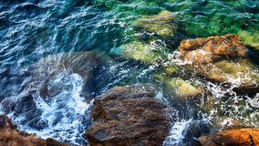 Morze wzór obraz stock