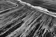 Morze wzór Od Above Fotografia Royalty Free