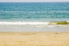 Morze z miękkiej części fala Fotografia Stock