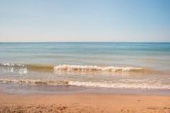 Morze z piaskiem Zdjęcia Stock