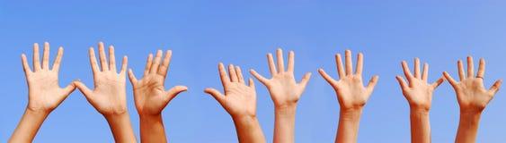Mãos Foto de Stock Royalty Free
