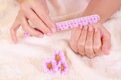 Mãos bonitas Imagens de Stock