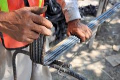 Mãos de trabalho Foto de Stock Royalty Free