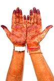 Mãos do Henna Imagens de Stock