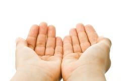 Mãos do miúdo Imagens de Stock Royalty Free