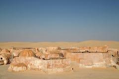 Mos Espa Star Wars ustawiający w Tunezja zdjęcie royalty free