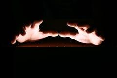 Mãos mágicas Fotografia de Stock Royalty Free