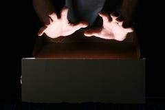 Mãos mágicas Fotos de Stock Royalty Free