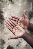 Mãos vazias Fotos de Stock