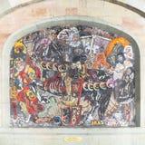 Mosaïque à Genève Image libre de droits