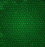 Mosaïque abstraite verte Photos stock