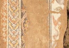 Mosaïque antique dans Dion, Grèce Images stock