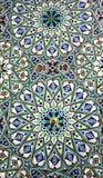 Mosaïque arabe de travail manuel sur le mur Images stock