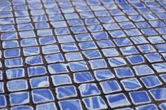 Mosaïque bleue Photo stock