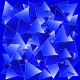Mosaïque bleue Photos stock